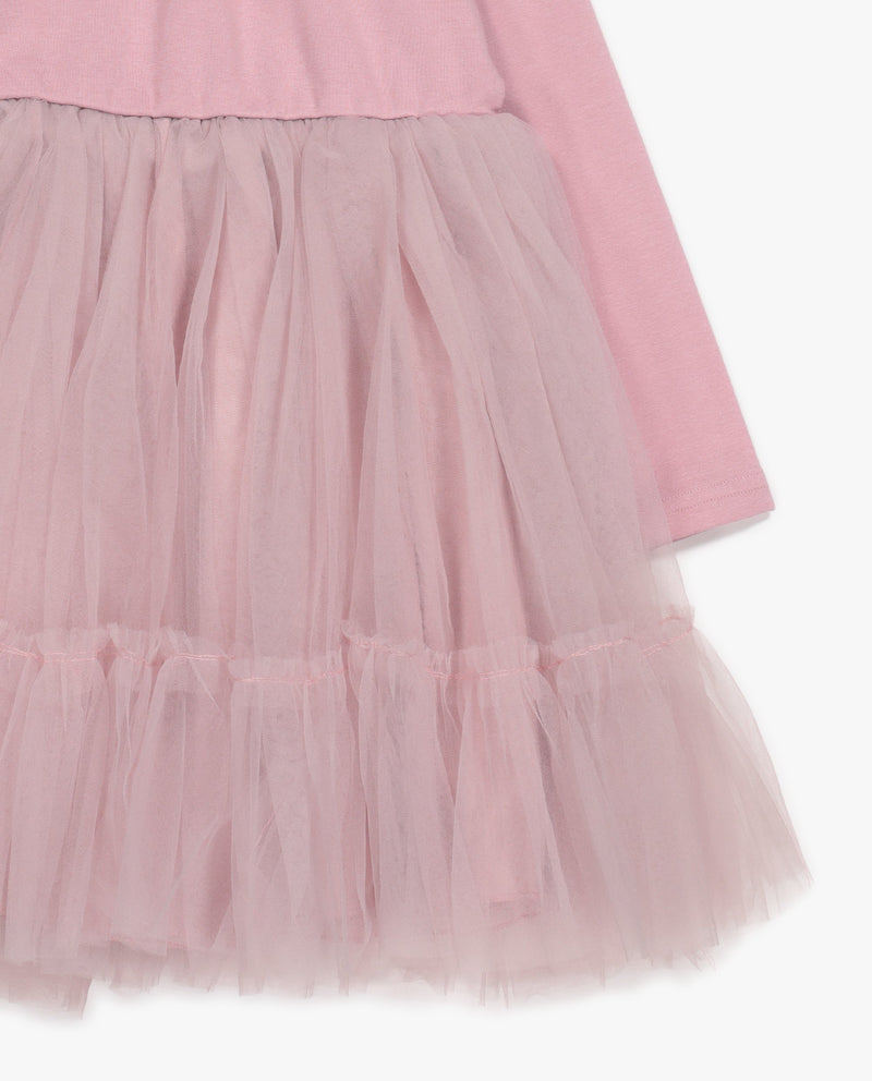 [Out of Stock] Tulle Skirted Maxi Dress