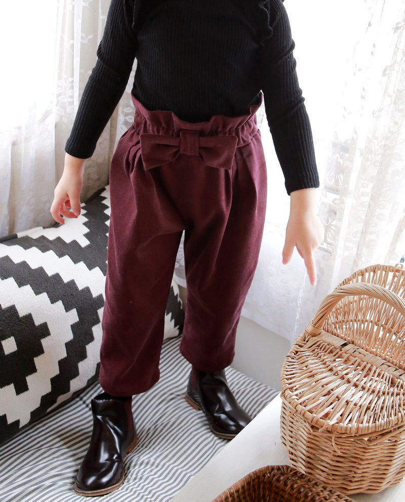 Ruffled Waist Pants on MooMooz