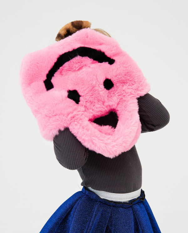 [Out of Stock] Furry Smiley Face Bag