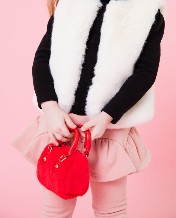 [Out of Stock] Fuzzy Faux Fur Tote Bag