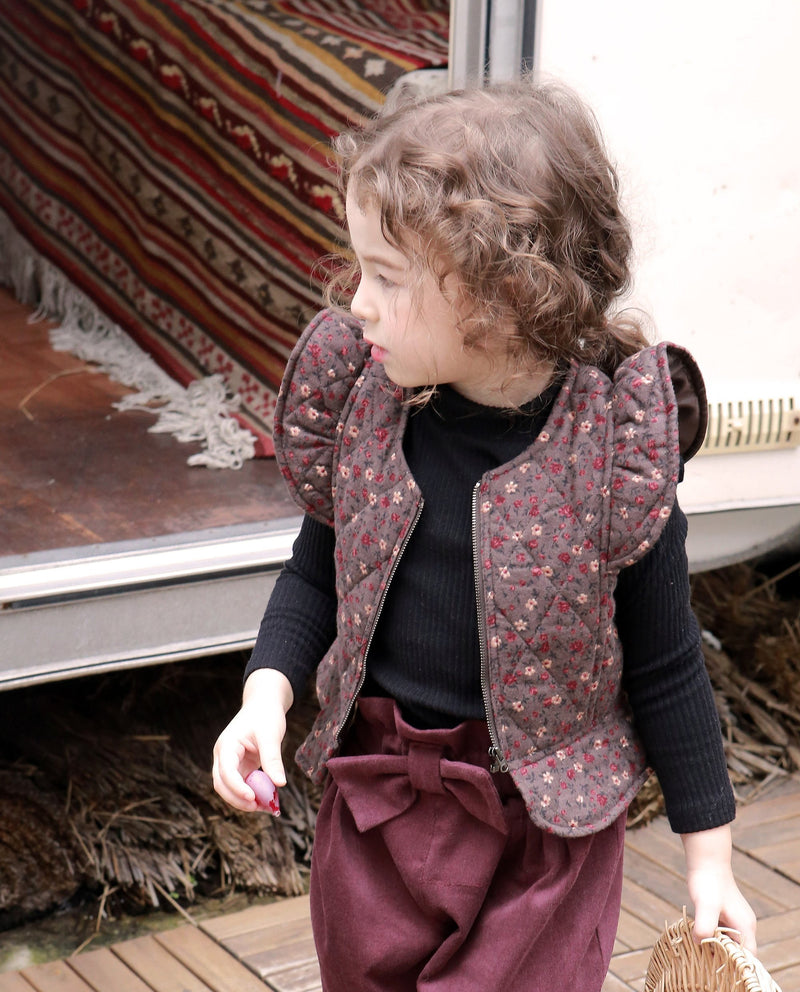 [Out of Stock] Quilted Wing Sleeve Vest
