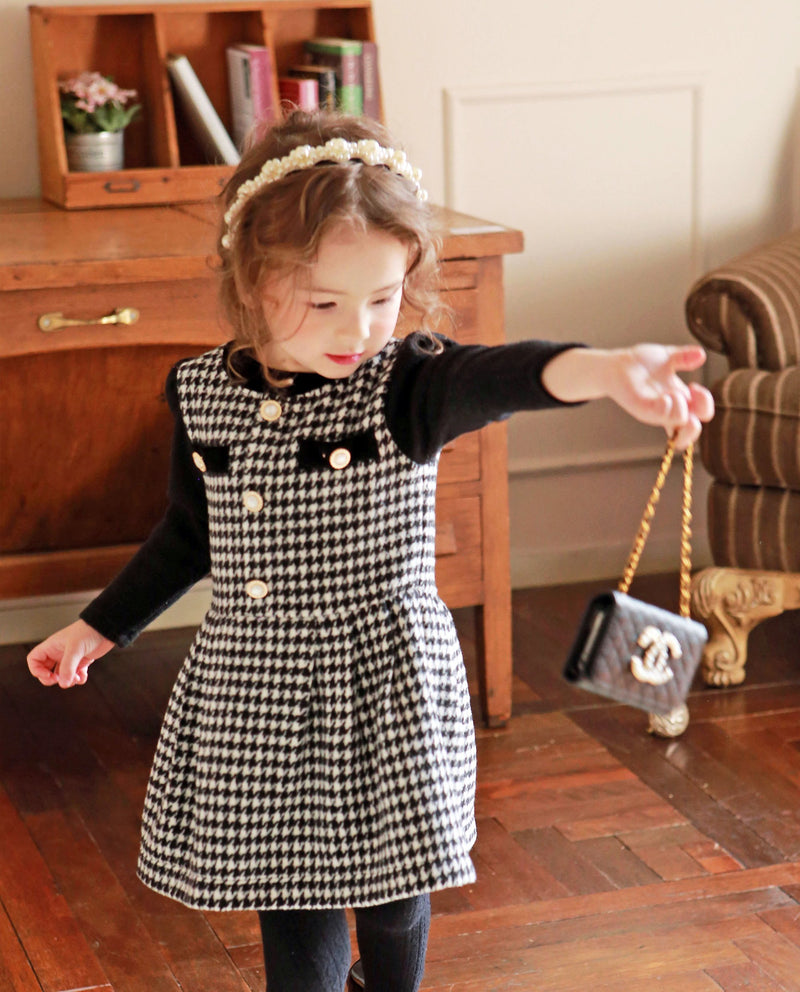 [Out of Stock] Classic Tweed Dress