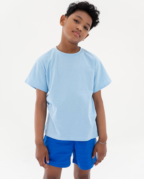 Supima Short Sleeve LightBlue