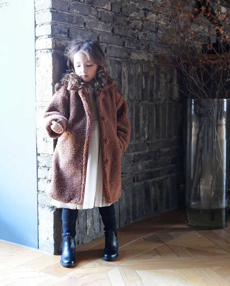 [Out of Stock] Teddy Bear Coat