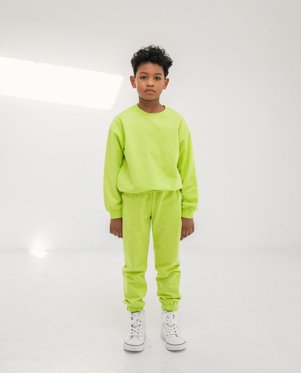 Supima Cotton Daily Jogger Lime