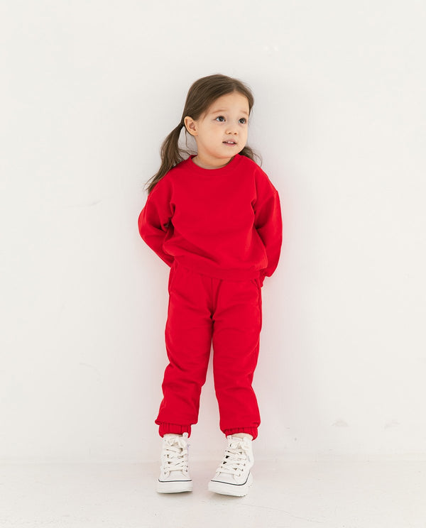 Supima Cotton Daily Jogger Red