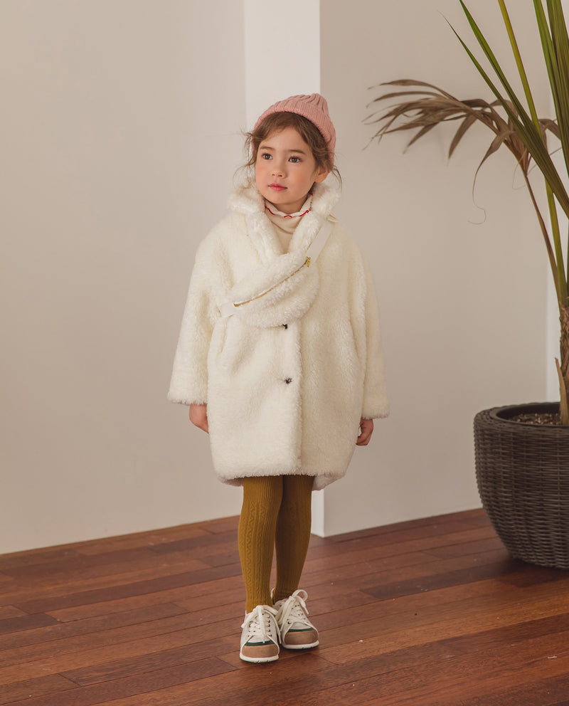 [Out of Stock] Relaxed Fleece Coat