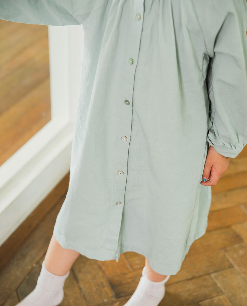 Full Button Down Dress