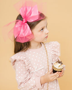 Silky Bow Headband