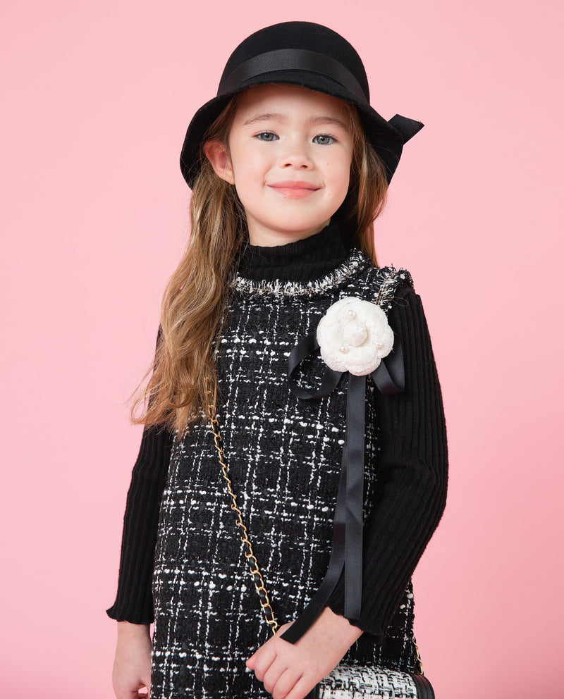 [Out of Stock]Camellia Top Hat