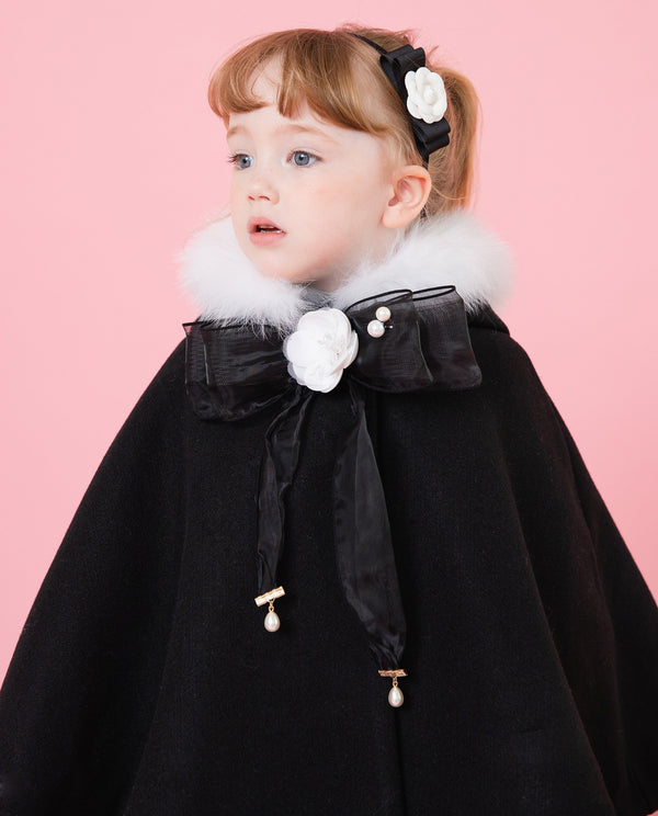 [Out of Stock] Camellia Tulle Bow Brooch