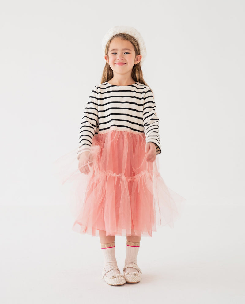 [Out of Stock] Striped Top Tutu Dress