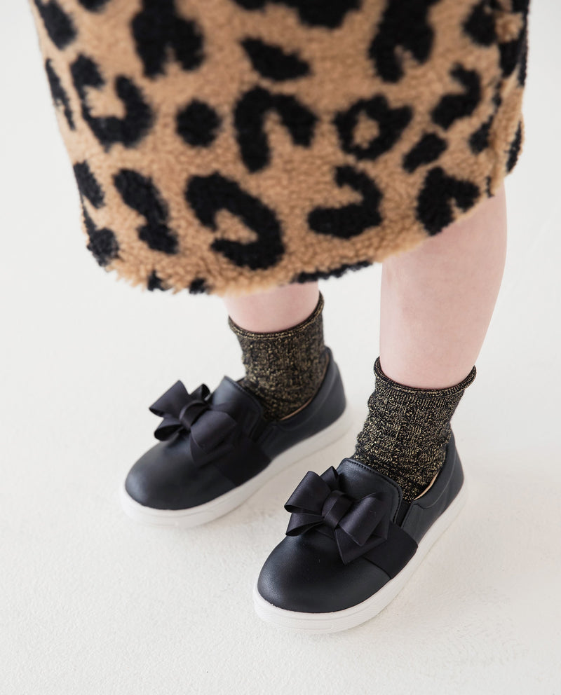 [Out of Stock] [SET] Leopard Fleece Skirt Set