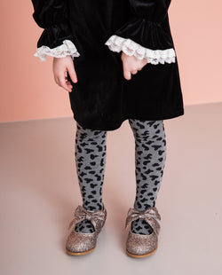[Out of Stock] Partially Patterned Tights