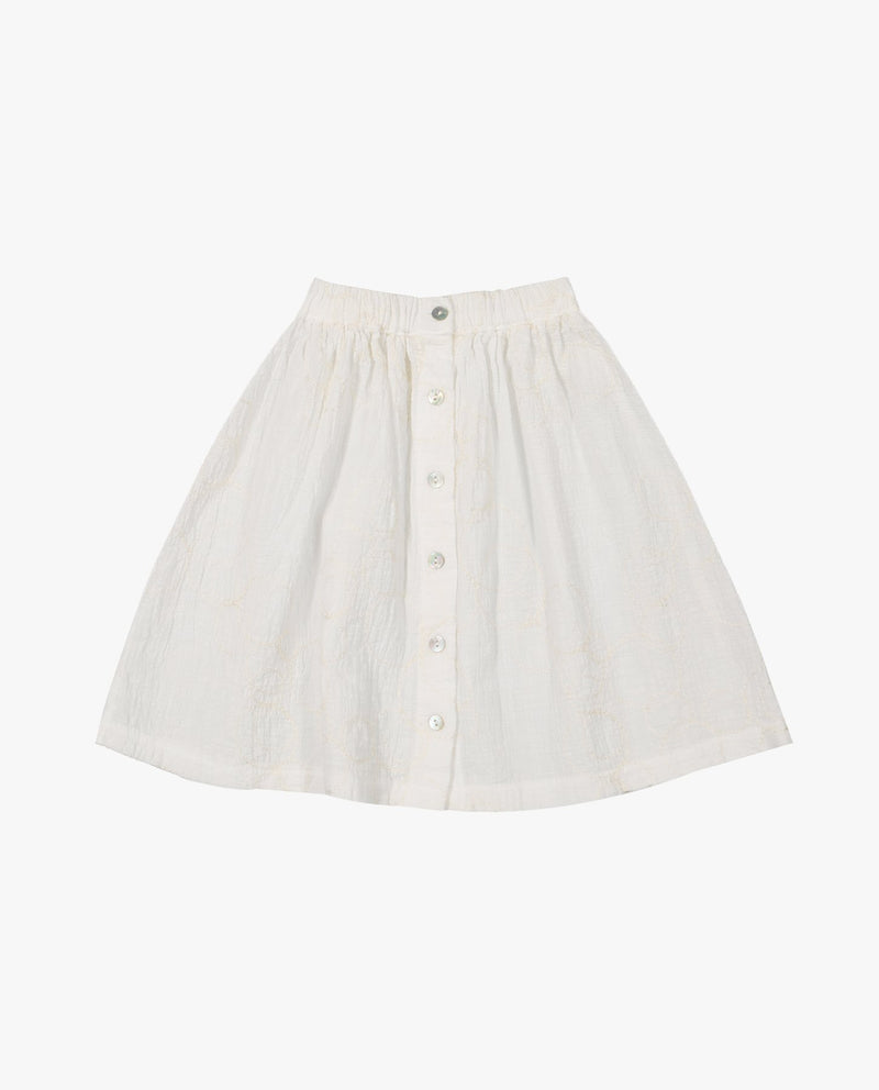 Summer Embroidery Skirt