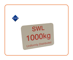 1000 SWL Label - C and S Shutters