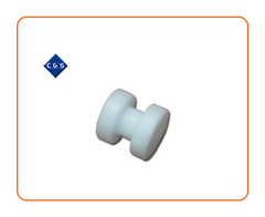 White Bobbin  31mm Wide x 31mm Depth  Part Number: CS482