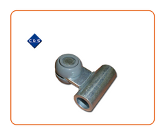 Grey Tapered Curtain Roller  30mm Wide x 35mm Depth  Tube 60mm Long x 19mm OD x 16.75mm ID  Part Number: CS483