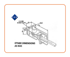Curtain Tensioner - R45J - C and S Shutters