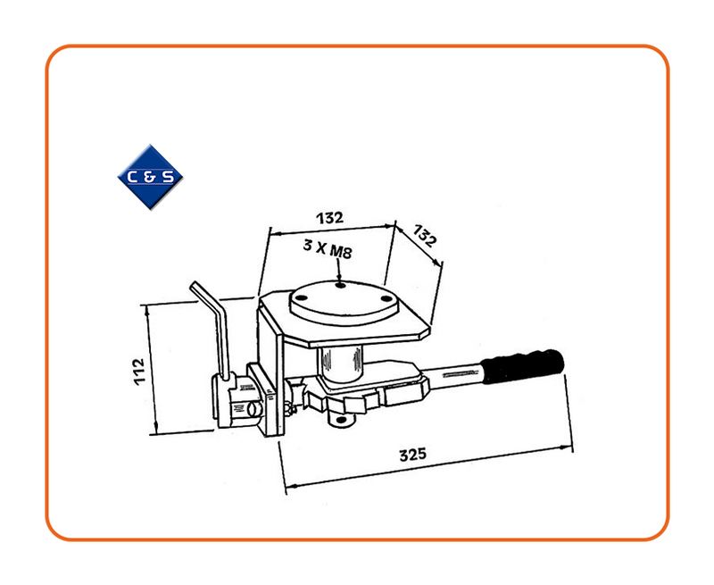 Curtain Tensioner - R48 - C and S Shutters