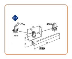 Curtain Tensioners - R50 - C and S Shutters