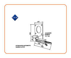 Curtain Tensioners - R65 - C and S Shutters