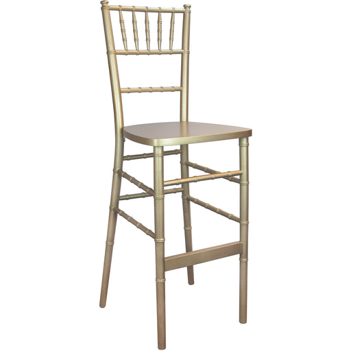 Chiavari Bar Stool Gold