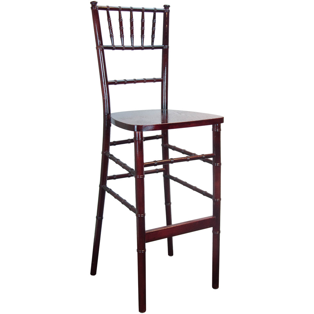 Chiavari Bar Stool Mahogany