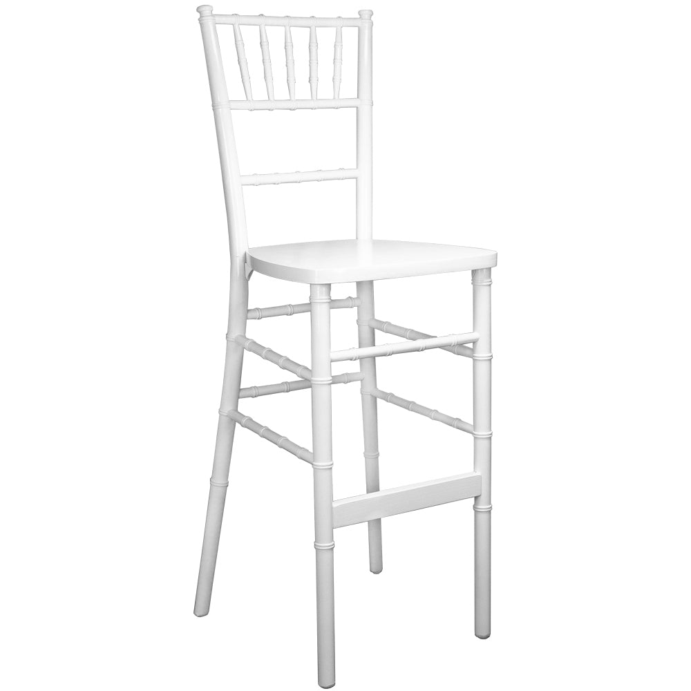 Chiavari Bar Stool White