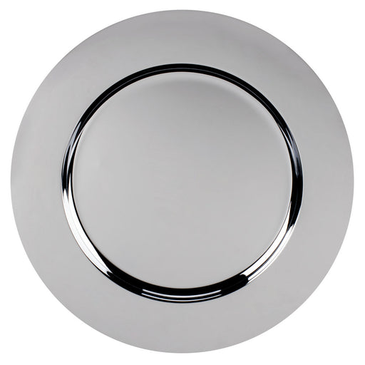 Chrome Charger Plate