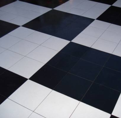 Black Laminate Dance Floor