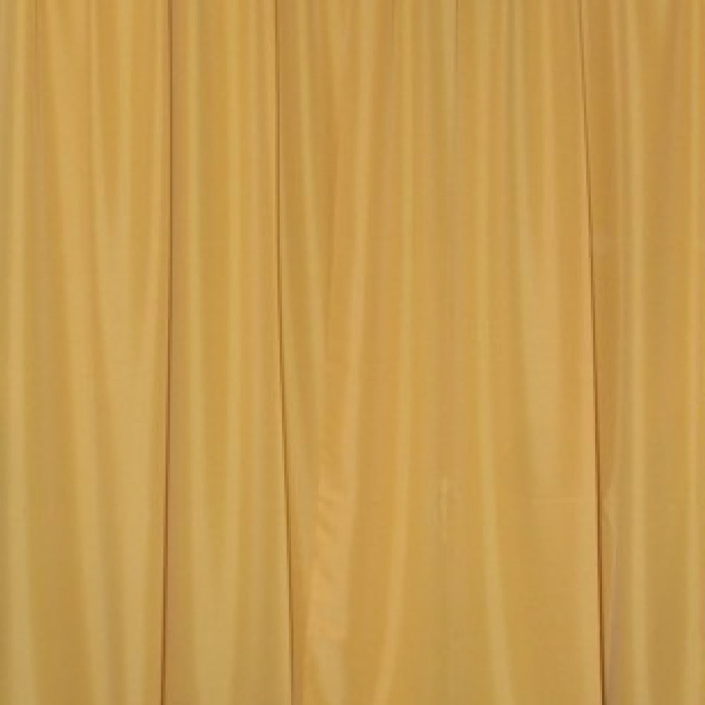Pipe & Drape with Gold Curtain