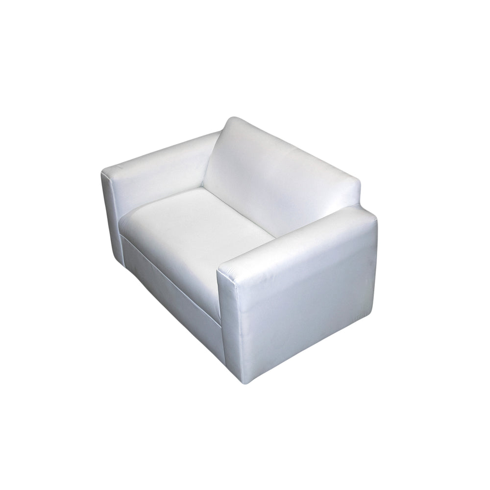White Lounge: Loveseat