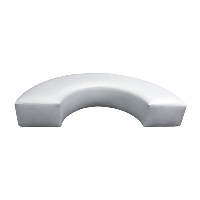 White Lounge: U Shape Bench
