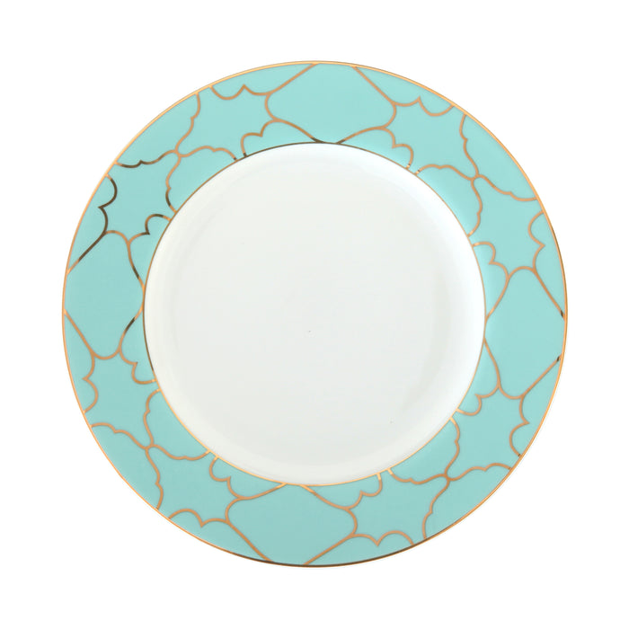 Firenze Blue Round Salad or Dessert Plate
