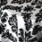 Black & White Baroque Design Polyester