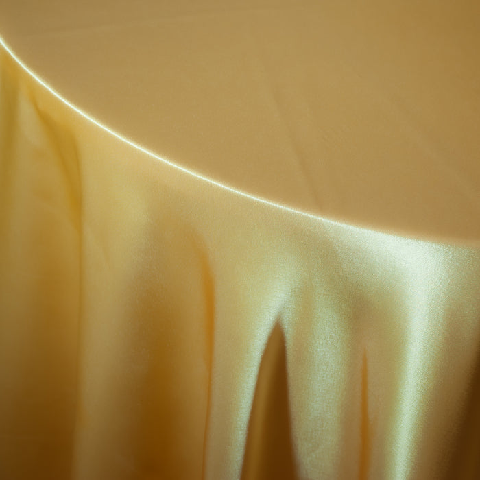 Bright Yellow Satin