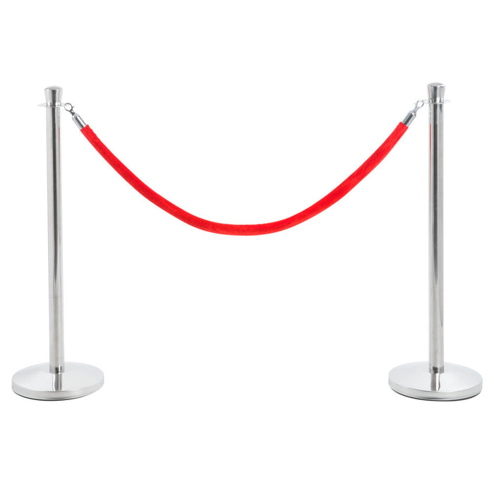 Stanchion & Red Ropes
