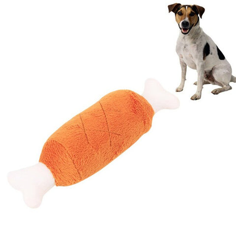 Bite Resistant Chicken Leg Toy