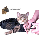 Cat Bathing Restraint Bag