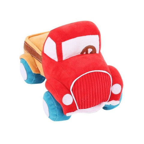 Corduroy Plush Truck Shaped Toy