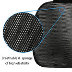 Breathable Car Seat Cushions High Elastic for Auto Supplies Home Office Chair - Black - Online store for your car