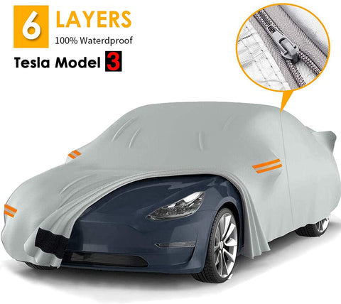 6 layer waterproof Car Cover