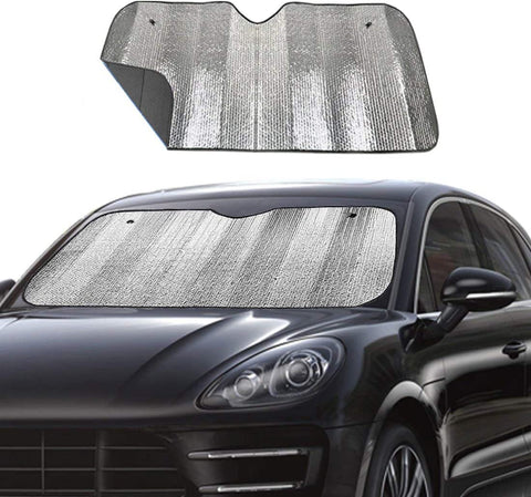 "Front Windshield Sun Shade Keeps Vehicle Cool - 55"" x 27.5"""