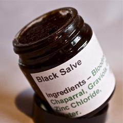 How to Make Black Salve (aka Bloodroot Paste, Red Salve, Cancema)