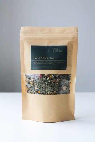 Best Moon Time Herbal Tea Blend - Menstruation PMS New Moons Introspection Calming