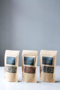 Best Herbal Loose Leaf Tea Blends - Made in Canada - Crystal + Intention Infused