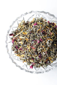 Yoni Steam Herb Blend, Loose Leaf, for yoni steaming - Ode To Venus