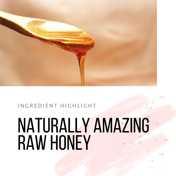 Naturally Amazing Raw Honey