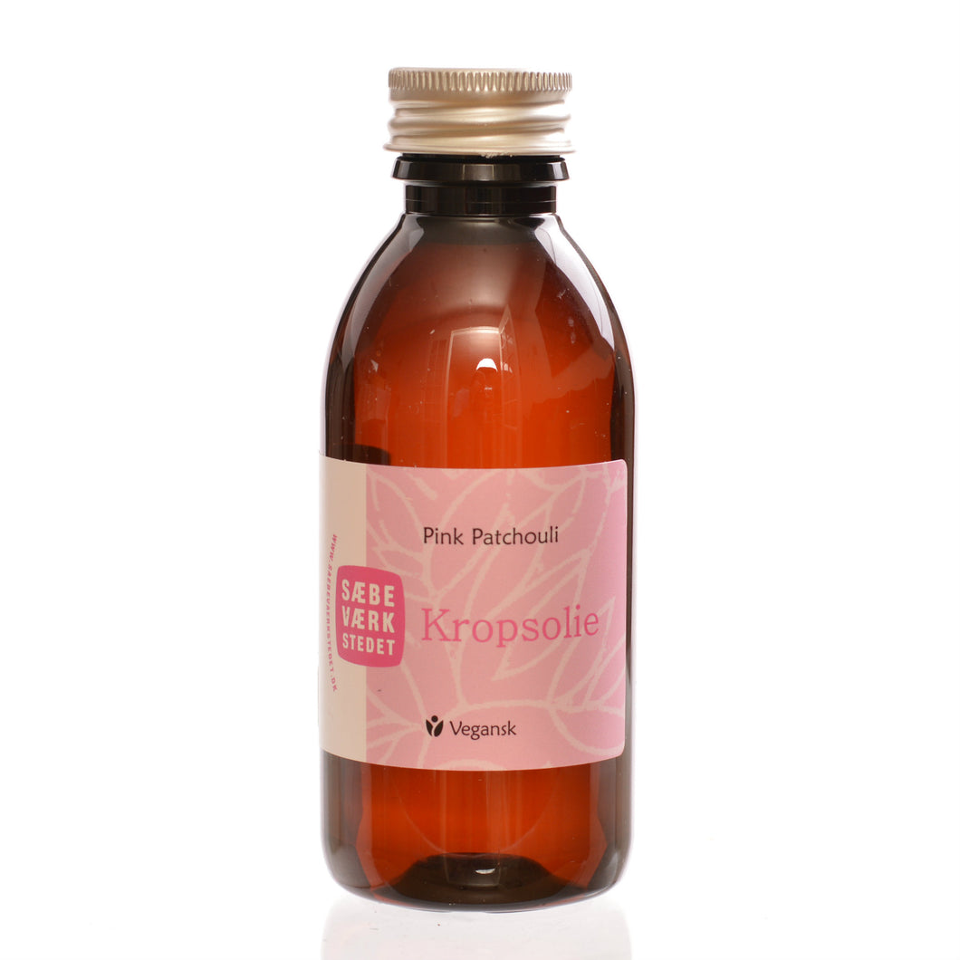 Kroppsolje med patchouli, 150 ml